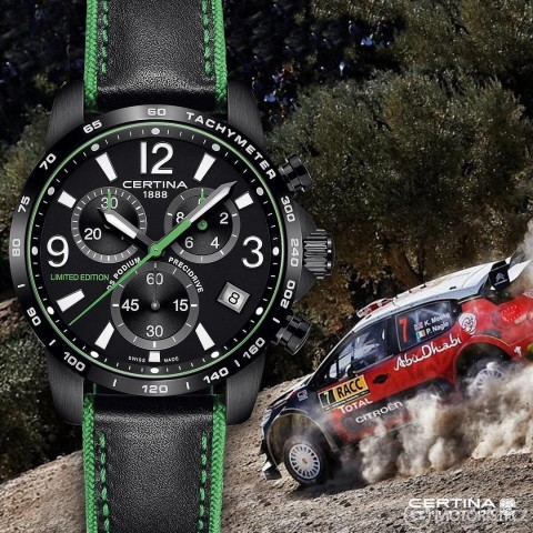 Limited edition Certina WRC